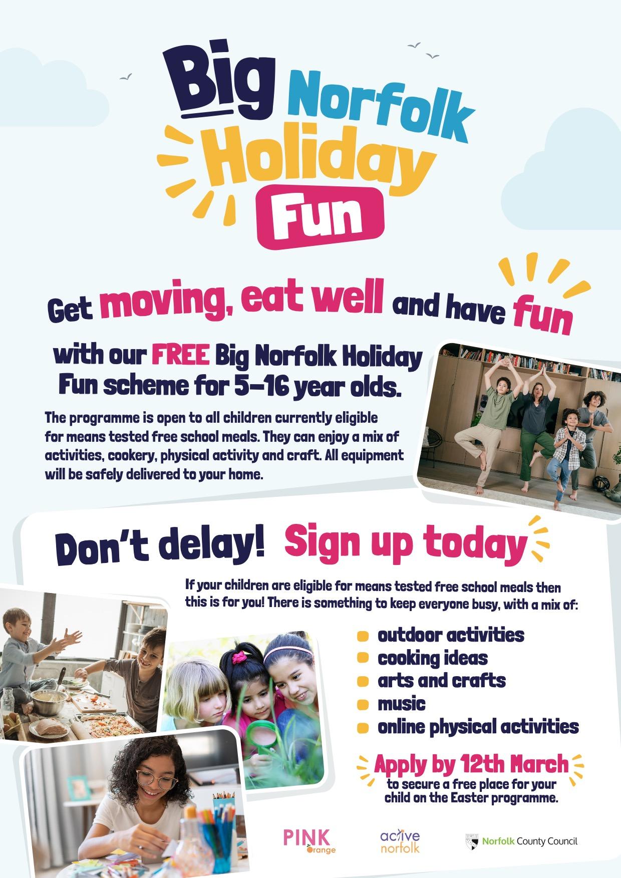 NCC Big Norfolk Holiday Activities EFlyer
