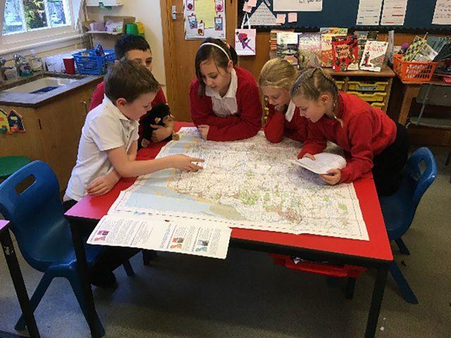 Year 4 – Mapwork