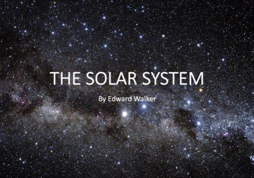 Edwards Solar System Presentation